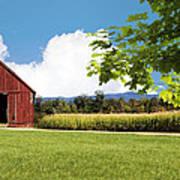 New Hampshire Barnyard Poster