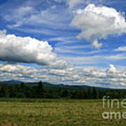 New Hampshire Blue Sky  Poster