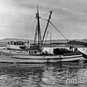 New Marretimo Purse Seiner Monterey Bay Circa 1947 Poster