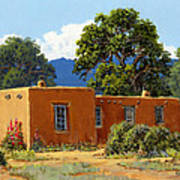 New Mexico Adobe Poster