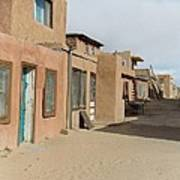 New Mexico Buildings Poster