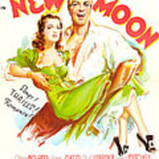New Moon, Us Poster, Nelson Eddy Poster