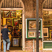 New Orleans Art Shop On Royal Poster