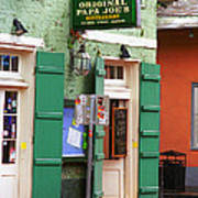 New Orleans - Bourbon Street 4 Poster