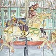 New Orleans Carousel Poster