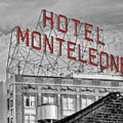 New Orleans - Hotel Monteleone Poster