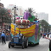 New Orleans - Mardi Gras Parades - 12122 Poster