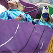 New Orleans - Mardi Gras Parades - 12127 Poster by DC Photographer