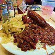 New Orleans Red Beans And Rice Poster