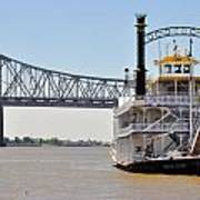 New Orleans River Boat Poster
