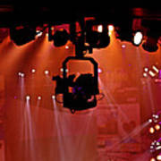 New Photographic Art Print For Sale Lights Camera Action Backstage At The American Music Award Poster