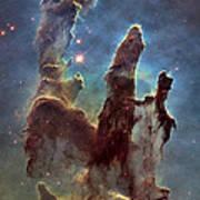 New Pillars Of Creation Hd Tall Poster