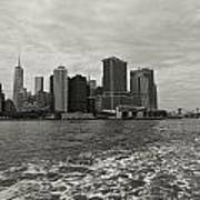 New York Battery Park View Poster