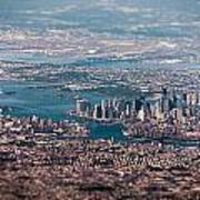 New York City Aerial Poster
