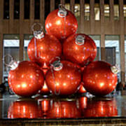 New York City Baubles Poster
