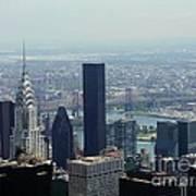 New York City Chrysler Building Poster