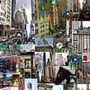 New York City Collage Poster