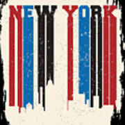 New York City Concept. Logo. Label Poster