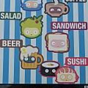 New York City Eatery Poster
