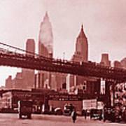 New York City Fine Art 102 Poster