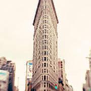 New York City Flatiron Building Poster