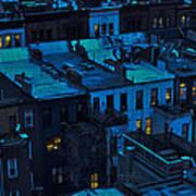 New York City Nightfall Poster