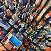 New York City Sky View Poster