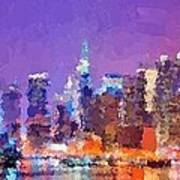 New York City - Skyline 0 Poster