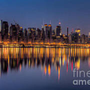 New York City West Side Morning Twilight I Poster