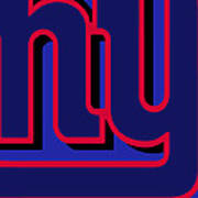 New York Giants Football Poster