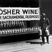 New York Kosher Wine For Sale Poster