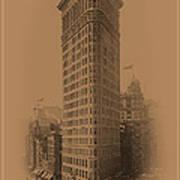 New York Landmarks 3 Poster