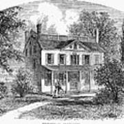 New York: Mansion, 1763 Poster