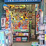 New York Newsstand Poster