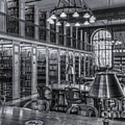New York Public Library Genealogy Room II Poster