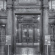 New York Public Library Main Reading Room Entrance II Poster