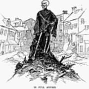 New York: Sanitation, 1885 Poster