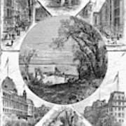 New York Saratoga, 1874 Poster