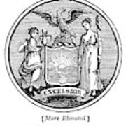 New York State Seal Poster
