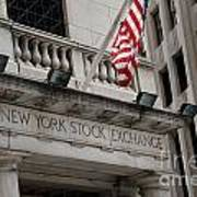 New York Stock Exchange Building Poster