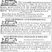 New York Sun, 1833 Poster