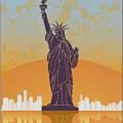 New York Vintage Poster Poster