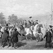 New York: Washington, 1783 Poster by Granger