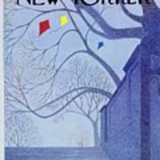 New Yorker April 1st 1974 Poster