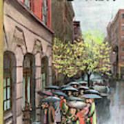 New Yorker April 21st, 1951 Poster