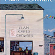 New Yorker August 16th, 1969 Poster
