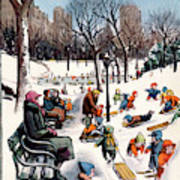 New Yorker February 26th, 1955 Poster