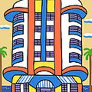 New Yorker Hotel-miami Beach Poster