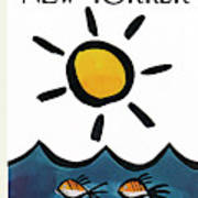 New Yorker June 10th, 1972 Poster