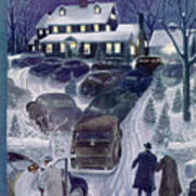 New Yorker March 4th, 1950 Poster